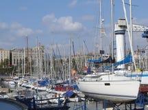 Barche di navigazione fotografia stock libera da diritti