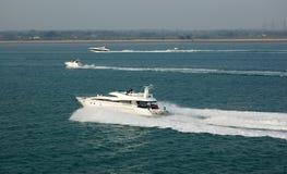 Barche di potenza Immagini Stock Libere da Diritti