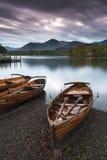 Barche di rematura Fotografia Stock