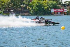 Barche di resistenza del Fest 2017 del lago falls del marmo Fotografia Stock