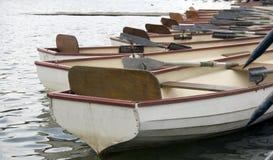 Barche di riga fotografia stock