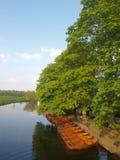 Barche di riga Fotografia Stock Libera da Diritti