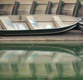 Barche di riga Immagini Stock