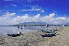 Barche di riposo Fotografia Stock
