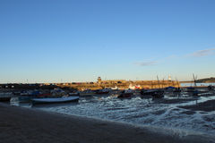 Barche di St Ives Immagini Stock Libere da Diritti