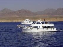 Barche di tuffo Fotografia Stock