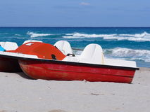 Barche di Varadero Cuba Fotografie Stock