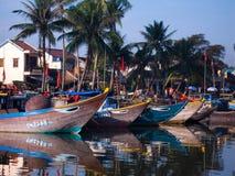 Barche e riflessioni Fotografie Stock