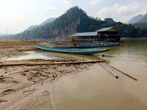 Barche e zattere fotografia stock libera da diritti