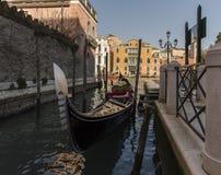 Barche Gondola Venezia Zdjęcia Royalty Free