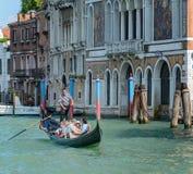 Barche Gondole Venezia 免版税图库摄影