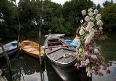 Barche Gondole Venezia 图库摄影