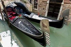 Barche Gondole Venezia Стоковые Фото