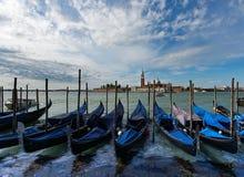 Barche  Gondole  Venezia Stock Photography