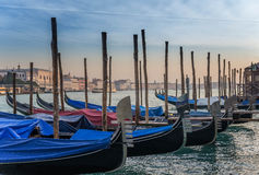 Barche  Gondole  Venezia Stock Photos