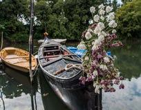 Barche  Gondole  Venezia Royalty Free Stock Images