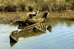 Barche guasti Fotografia Stock Libera da Diritti