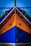 Barche maltesi tradizionali Fotografie Stock