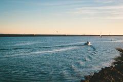 Barche in Marina del Ray, California immagine stock libera da diritti