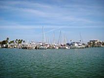 Barche nel golfo Fotografia Stock Libera da Diritti