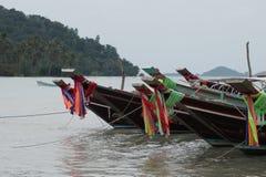 Barche nel mare Fotografia Stock Libera da Diritti