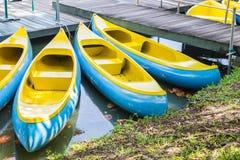 Barche nel parco pubblico Fotografia Stock