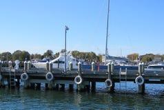 Barche nel porticciolo Fotografia Stock