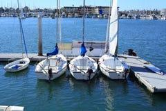 Barche nel porticciolo Fotografia Stock Libera da Diritti