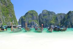 Barche a Phuket Fotografia Stock