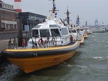 Barche pilota Olanda Fotografie Stock Libere da Diritti