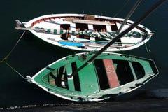 Barche in porto Fotografie Stock