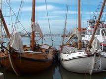 Barche a porto Fotografia Stock