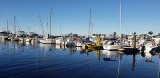 Barche riflettenti immagini stock libere da diritti