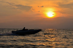 Barche in spiaggia Fotografie Stock Libere da Diritti
