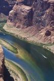 Barche sul fiume Colorado fotografia stock libera da diritti