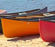 Barche sul lago Fotografie Stock Libere da Diritti