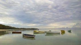 Barche sull'acqua Fotografia Stock