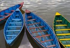 Barche sull'acqua Fotografie Stock