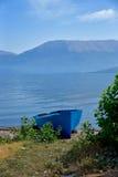 Barche sulla spiaggia Immagini Stock Libere da Diritti