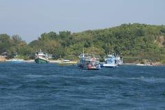 Barche in Tailandia Fotografie Stock
