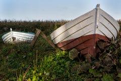 Barche tirate Fotografia Stock Libera da Diritti