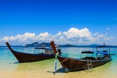 Barche tradizionali Fotografia Stock Libera da Diritti
