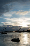 Barche tradizionali Fotografia Stock