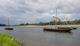 Barche tradizionali Immagini Stock