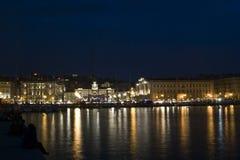 Barche a Trieste Fotografia Stock Libera da Diritti