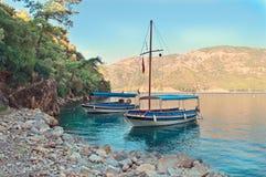 Barche turistiche Fotografie Stock