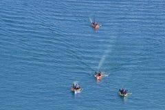 Barche turistiche a La Valletta, Malta Fotografia Stock Libera da Diritti