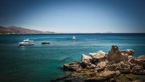 Barche turistiche sul mare Immagine Stock Libera da Diritti