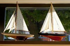Barche a vela Fotografia Stock