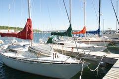 Barche a vela Fotografia Stock Libera da Diritti